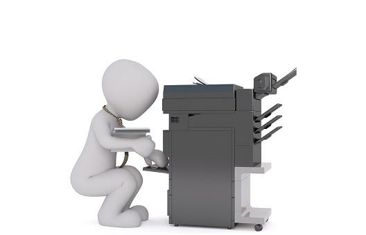 コンビニのコピー機は安全性が高く設定されている